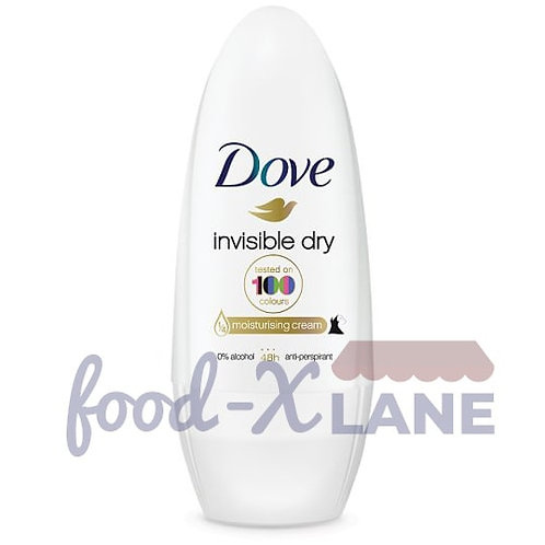 Dove Roll On 50ml invisible