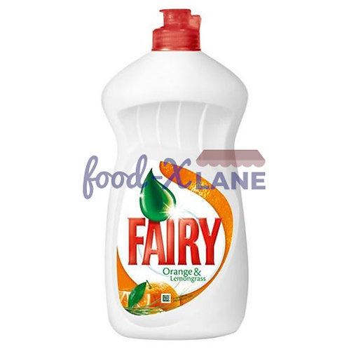 Fairy Dishwashing liquid 450ml orange&lemongrass