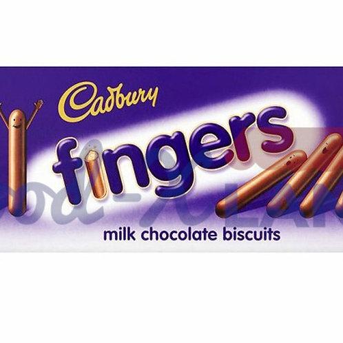 Cadbury Chocolate Fingers 114gr
