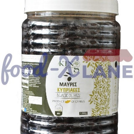 King Cyprus Black olives 1.3kl