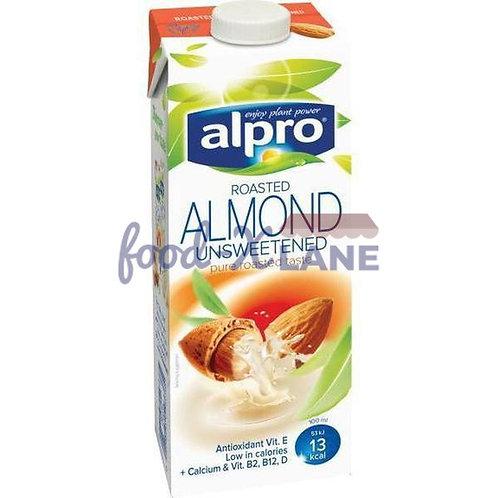 Alpro Unsweetened Almond Drink 1L