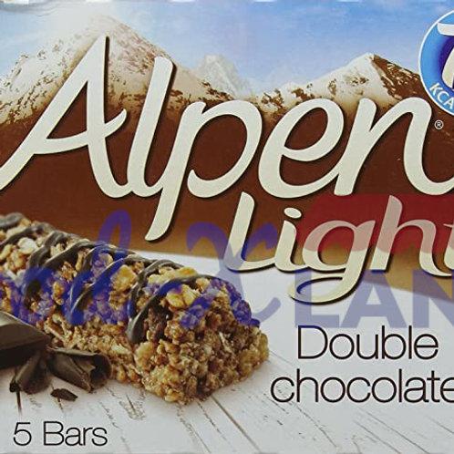 Alpen Light Cereal Bars Double Chocolate 95gr