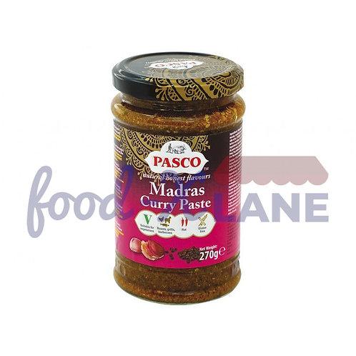 Pasco Curry Paste Madras Hot 270gr