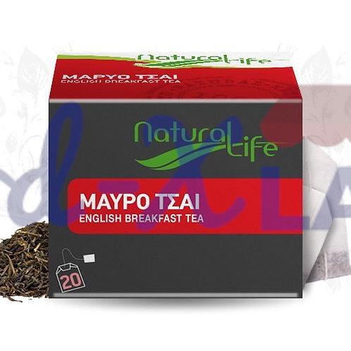 Natural life English breakfast tea 1x20s