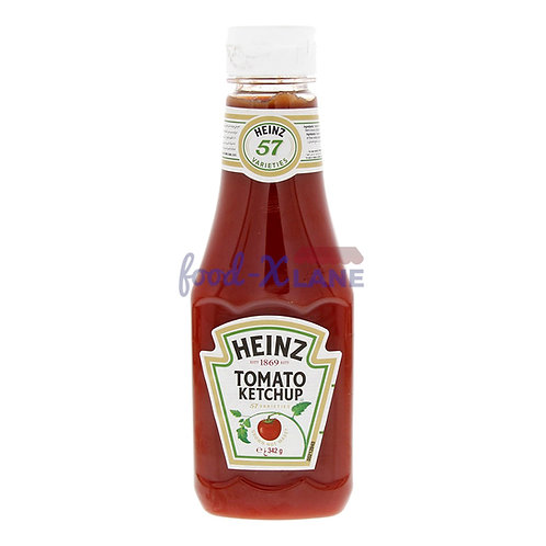 Heinz Tomato ketchup squeezy 342gr