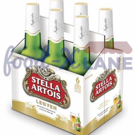 Stella Artois Beer 6x33cl