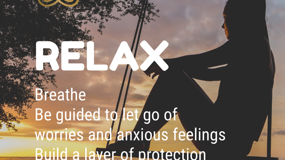 Manage anxiety & be calm. Audio download
