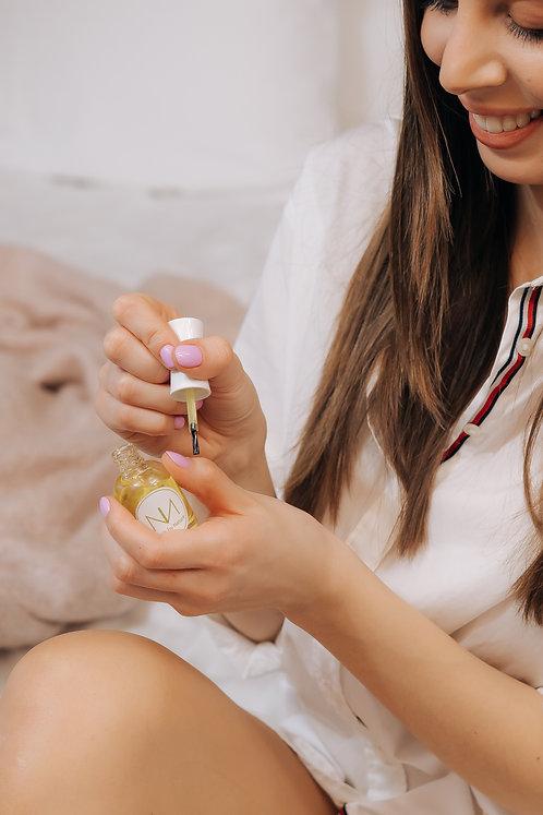 Vitamiineillä kynsiöljy jojoba öljystä