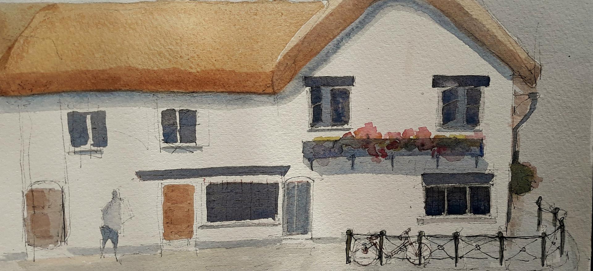 The Thatched Inn, Stratford on Avon.