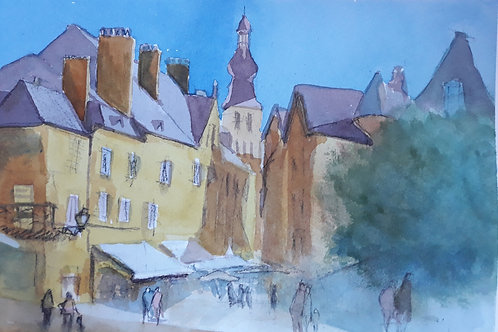 A Day in France- drawing and painting Sat 31 October