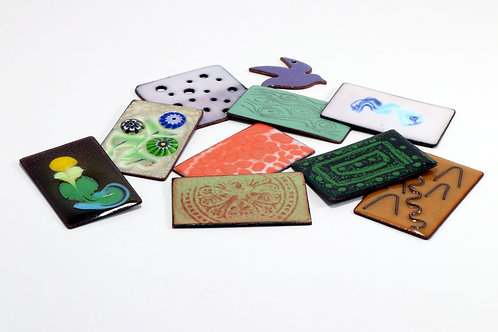 Enamelling on Copper workshop. Jane Tadrist. Sat. July 3  2021