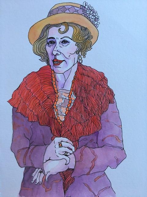 Ariadne Oliver, Author & Sleuth by Liz Bryden