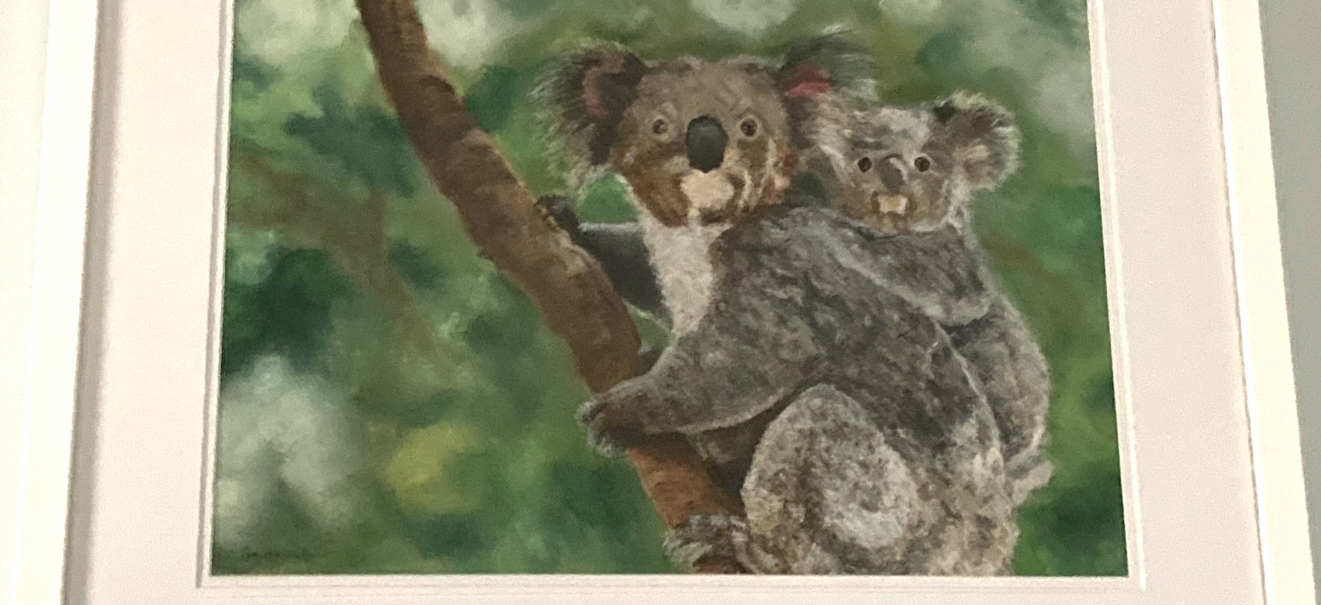 Did Someone Say Gum Leaves? by Pam Alexander