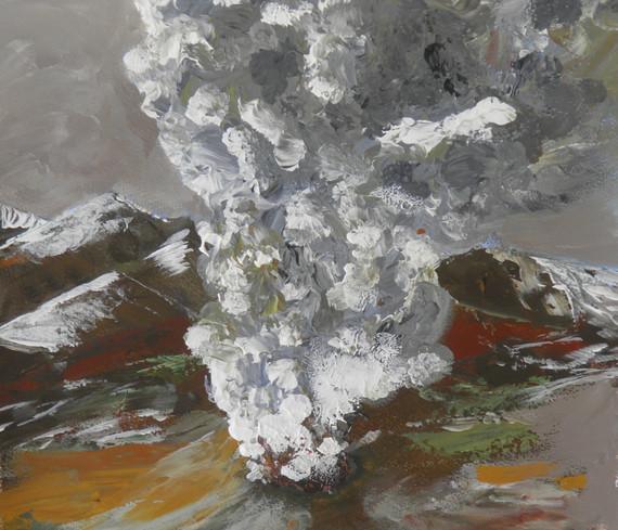 Volcanus Eruptus by Ian Bogg