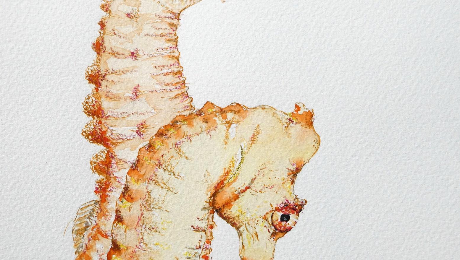 Seahorse Composite by Jo Barrett