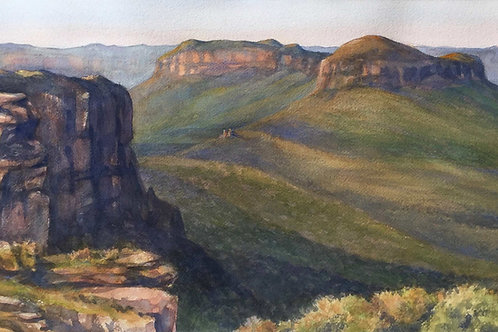 401 Watercolour, the complete picture. Owen Thompson.