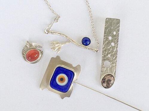Silver Jewellery making Workshop 16,17 January, 2021 . Jane Tadrist