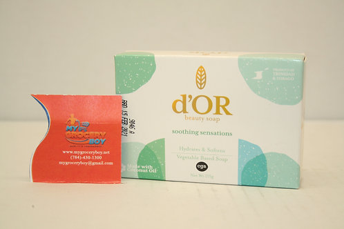 D'OR Beauty Soap Soothing Sensations 115g
