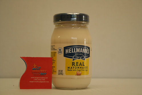 Hellman's Real Mayonnaise 8oz