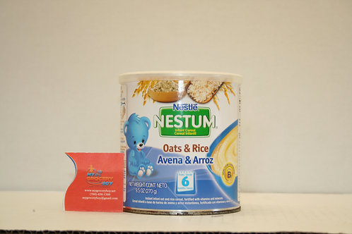 Nestle Nestum Infant Cereal Oats & Rice From 6 Months 270g