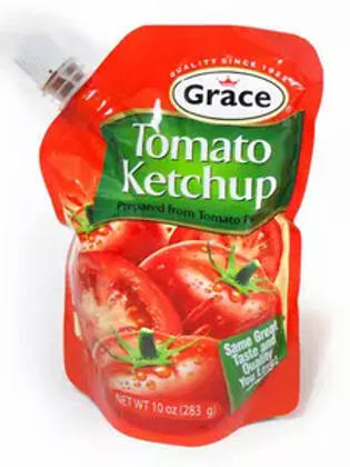 Grace Tomato Ketchup spouted 20oz