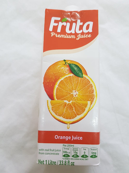 Fruta Premium Juice Orange 1lt 33.8lf oz