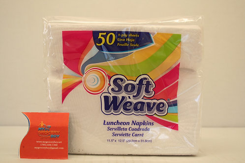 Soft Weave Napkins Paper (50 sheets)