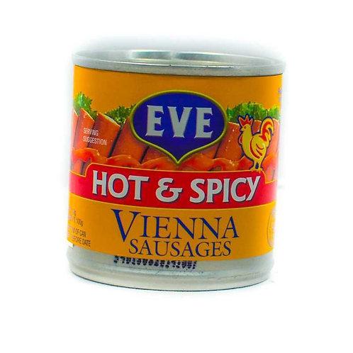 Eve Hot & Spicy Chicken Sausage 140g