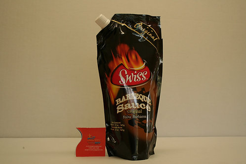 Swiss BBQ Sauce Hot & Spicy Spouch 500ml