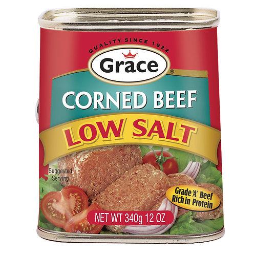 Grace Corned Beef Low Salt 12OZ
