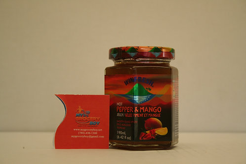 WINFRESH HOT Pepper & Mango Jelly 190mL