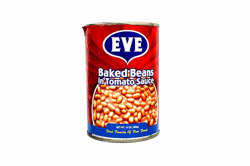 Eve Baked  Beans In Tomato Sauce 425GM