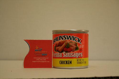 Brunswick Vienna Sausage Chicken 105g