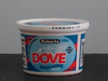 Dove Margarine spread 445g