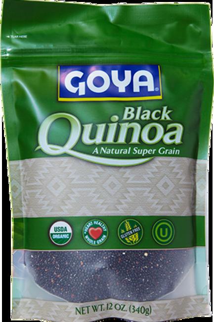 Goya Quinoa Organic Black 340g