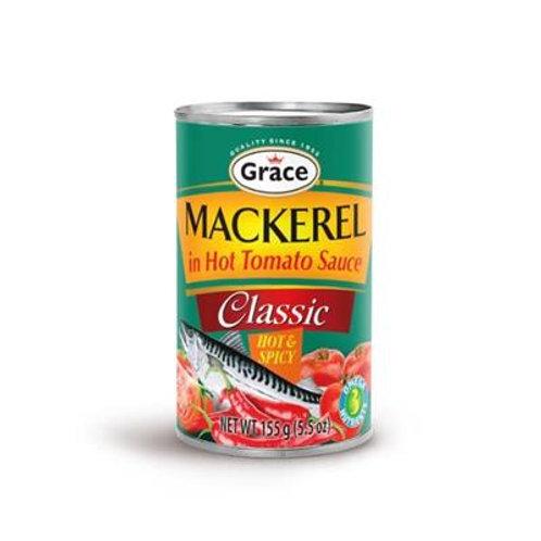 Grace Mackerel Hot &Spicy 5.5oz