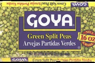 Goya Green Split Peas 16oz (1lb)