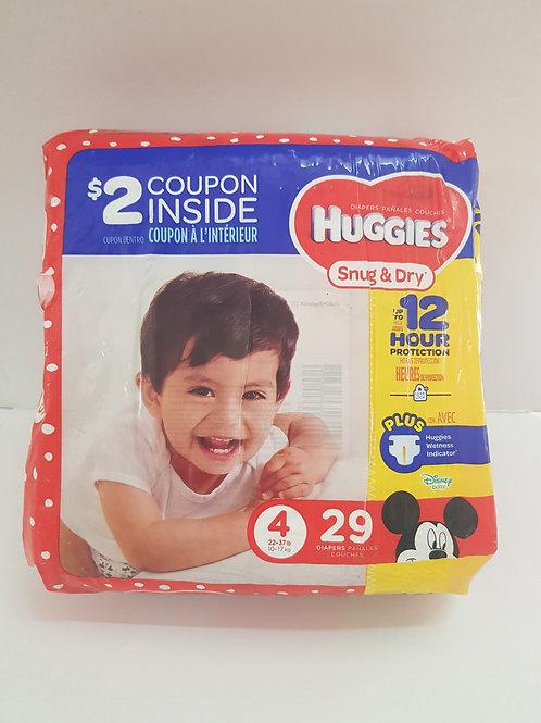 Huggies Snug & Dry (size 4)