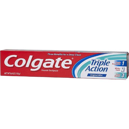 Colgate Triple action T/paste 6oz