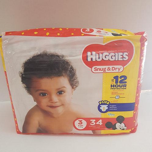 Huggies Snug & Dry (size 3)