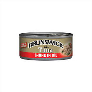 BRUNSWICK Tuna chunk in oil 142g