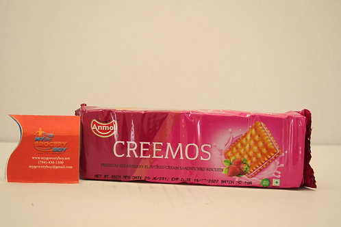Anmol Creemos Strawberry Cream Sandwiched Biscuits 85g