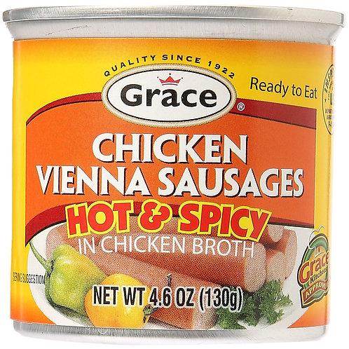 Grace Chicken Vienna Sausages (hot) 4oz