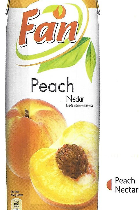 Fan Peach Nectar 1Lt