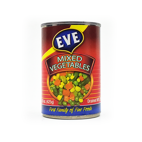 EVE Mixed Vegetables (425g)