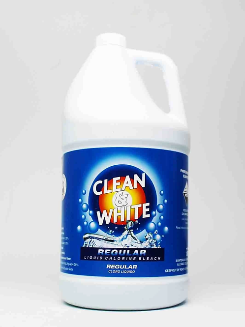 Clean & White Bleach 1.89 Lt