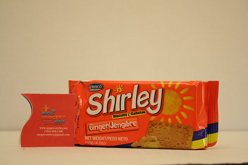 Shirley Biscuit Ginger 4oz