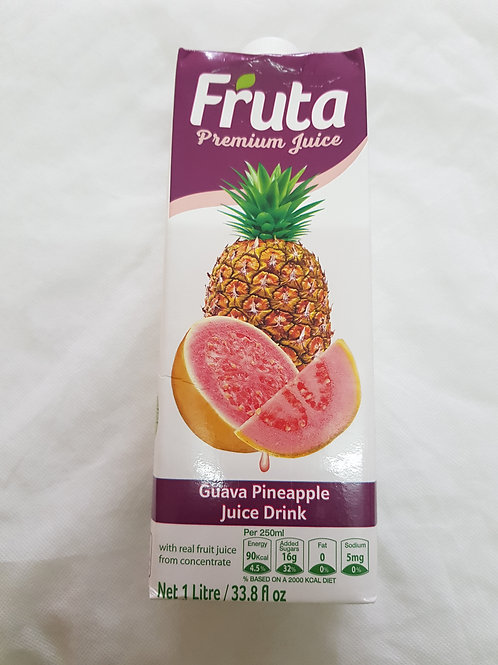 Fruta Premium Juice Guava Pineapple 1lt 33.8lf oz