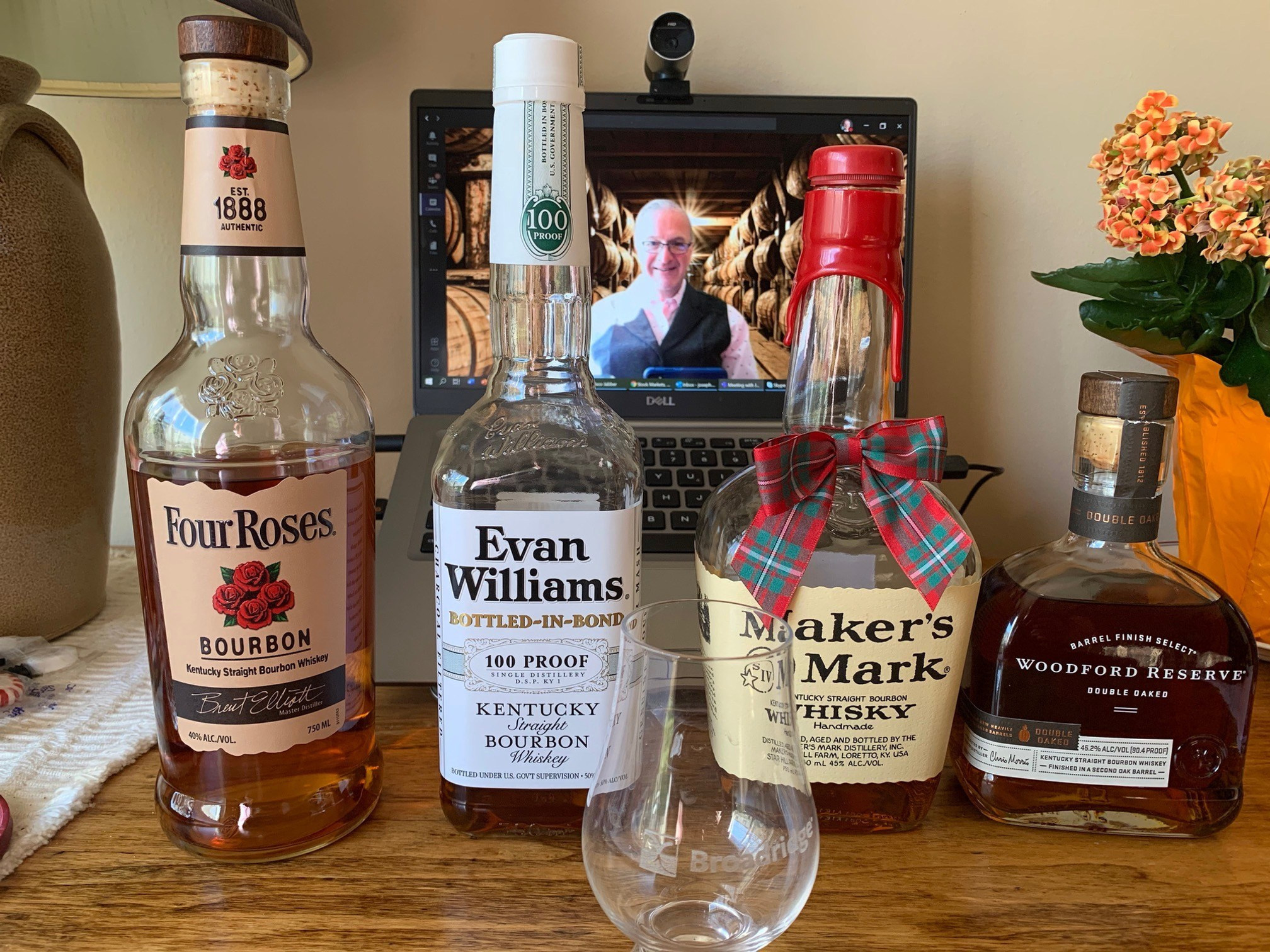 Virtual Bourbon Tasting