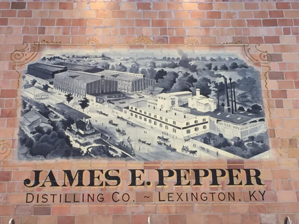 JAMES E. PEPPER TOUR & TASTING